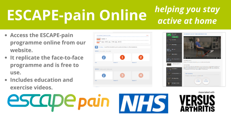 Various images of ESCAPE-pain Online, the web app version of the app